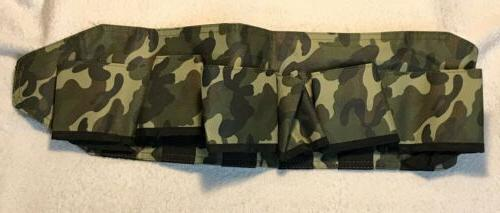 tactical belt ammo holder pouch camo outdoor