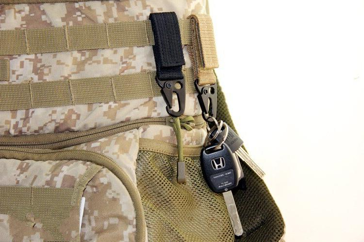 Tactical Carabiner Olecranon Molle Hook Outdoor Clothing Accessories