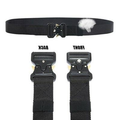 Tactical Combat Nylon Waistbelt Hunting Shooting