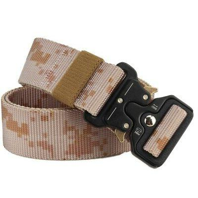 Tactical Waistbelt Duty Belt Hunting Shooting Adjustable