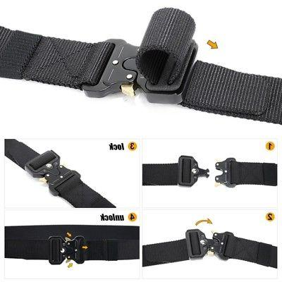 Tactical Combat Gear Waistbelt Heavy Duty Hunting Shooting Adjustable