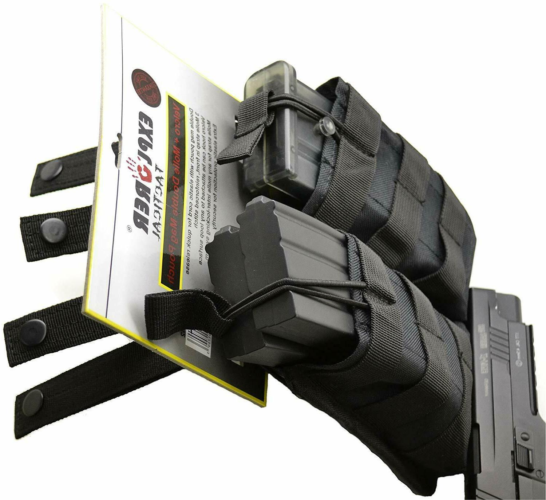 Explorer Tactical Double Holder Molle Gear 9mm M9 45