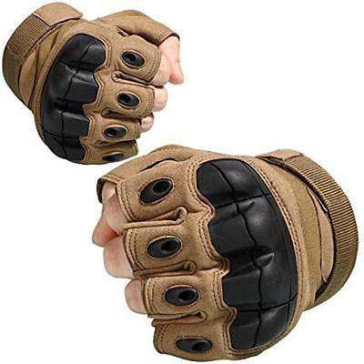 JIUSY Tactical Fingerless Rubber Half For Army