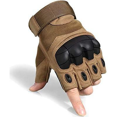 JIUSY Fingerless Knuckle Half For Army