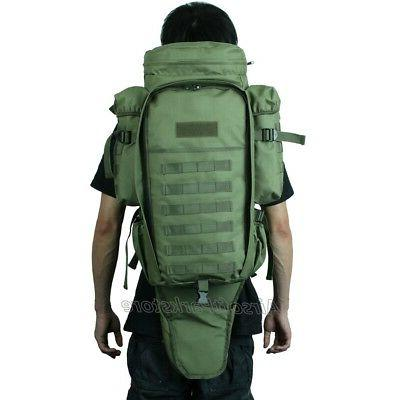Tactical Dual Rifle Case Backpack Drab