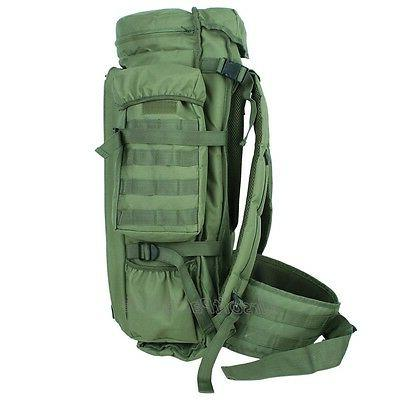Tactical Hunting Gear Dual Rifle Case Backpack Olive Drab