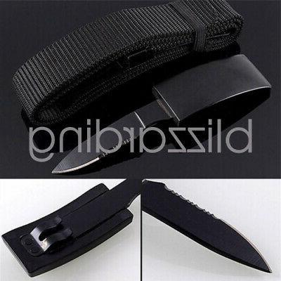 Tactical Knife Belt Self Survival