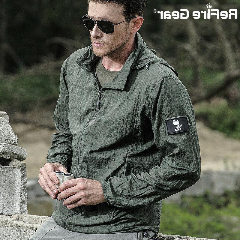 Jacket Breathable Waterproof Nylon
