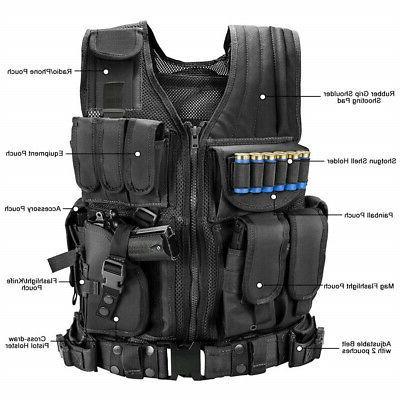Tactical Military PALs Vest Police Assault Gear