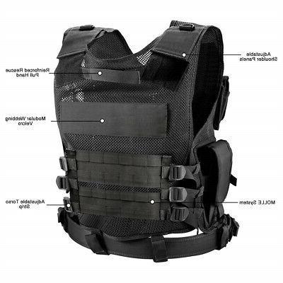 Tactical Vest Carrier JPC Molle Airsoft Combat Gear