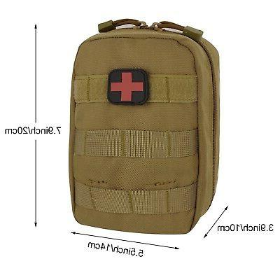 ArcEnCiel Medical First Blowout Pouch Brown
