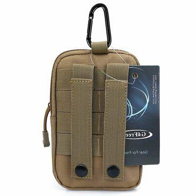 G4Free Molle Pouch Compact EDC Waist