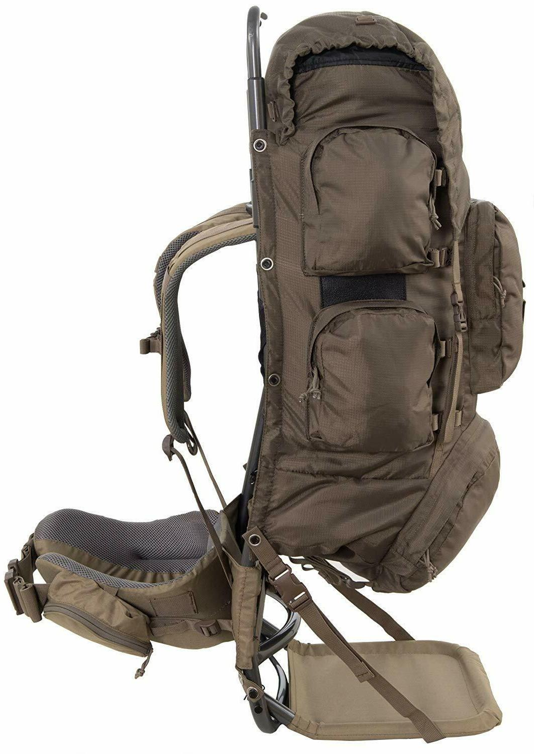 Tactical Backpack Camping Full Gear Frame Pocket