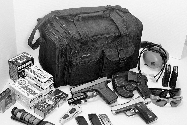 Explorer Duffel Bag Ammo Gear Military Gym Black