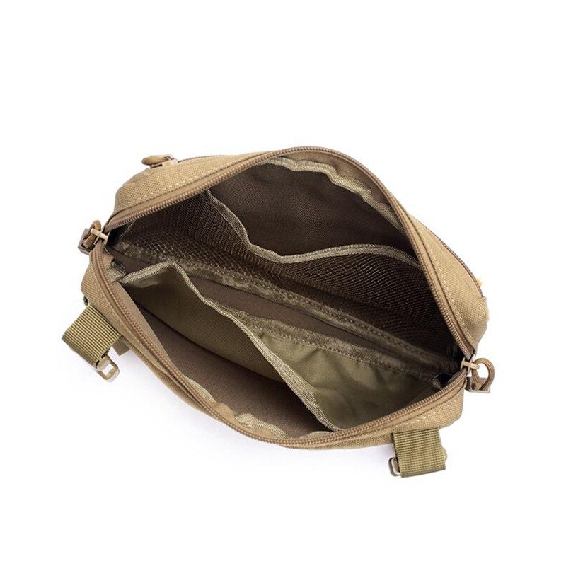 Tactical Shoulder <font><b>Bag</b></font> Military Hanging <font><b>Bag</b></font> Nylon Outdoor Chest