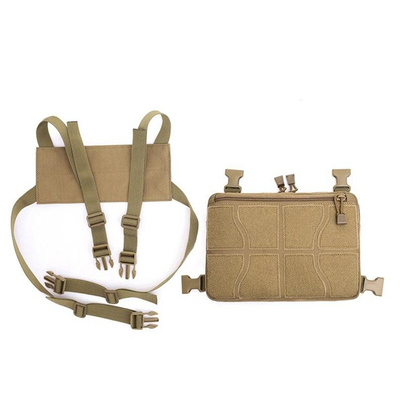 Tactical <font><b>Bag</b></font> Military Hanging Nylon Sports Climbing Chest <font><b>Hunting</b></font>