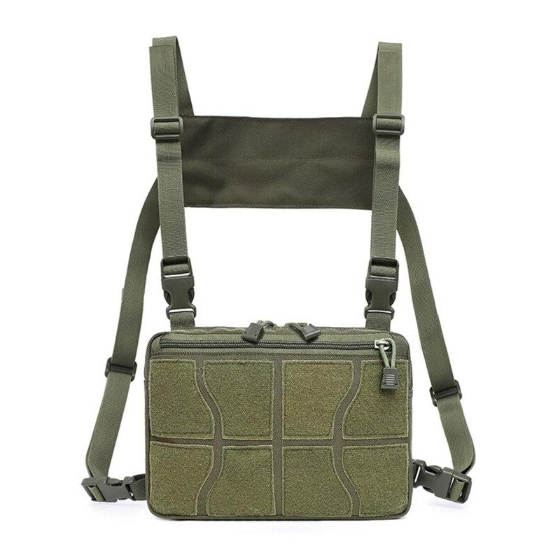 Tactical Shoulder <font><b>Bag</b></font> Military Hanging <font><b>Bag</b></font> Nylon Chest <font><b>Bag</b></font> <font><b>Hunting</b></font>