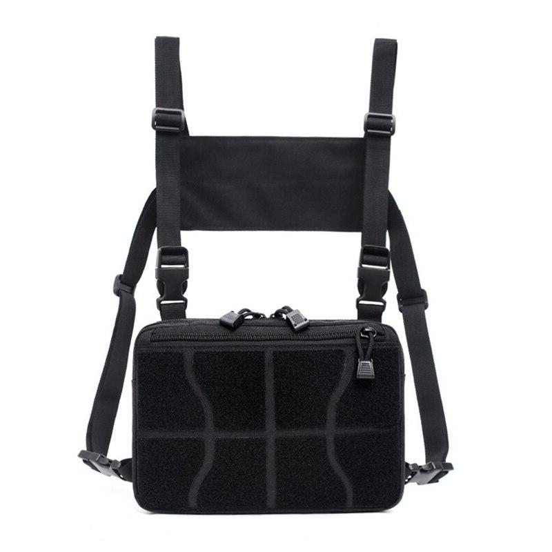 Tactical Shoulder <font><b>Bag</b></font> Military Multi-functional Nylon Sports Climbing Chest