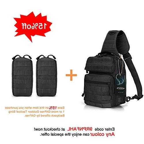 G4Free Outdoor Backpack, Military Shoulder Strap Backpack Trekking, Pack