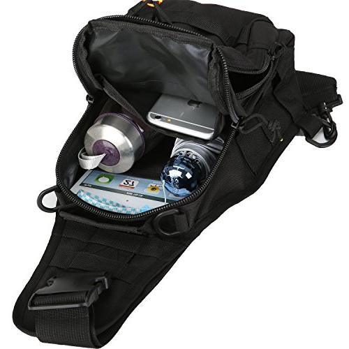denlix Sling Bag Outdoor Backpack Sport for Camping,