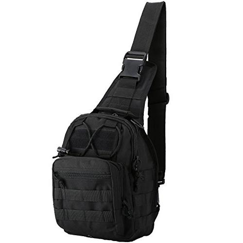 denlix Tactical Sling Outdoor Backpack Military for Rover Sling for Men Women