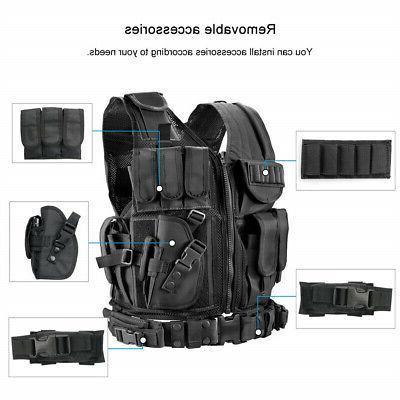 Tactical Vest Carrier JPC Airsoft Combat