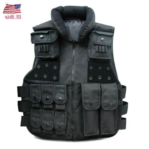 tactical vest military airsoft hunting combat protect