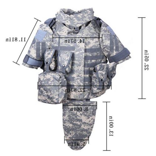 Tactical Vest Military Airsoft OTV Combat Survival Molle Protective Gear