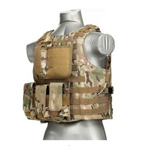 Tactical Military Molle Combat Assault Plate Carrier