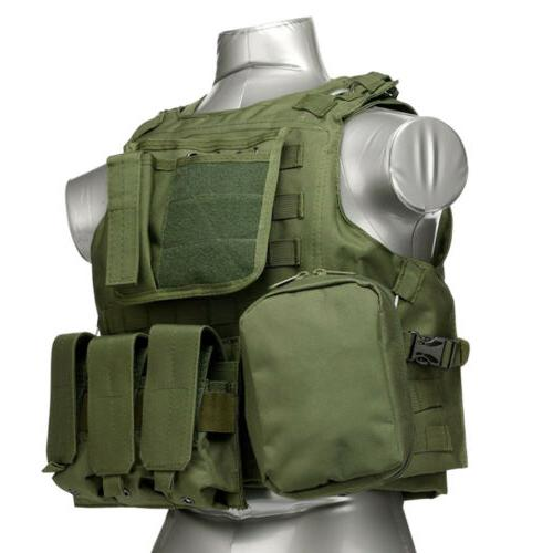Tactical Military SWAT Airsoft Molle Assault Carrier