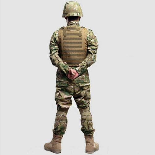 Tactical SWAT Molle Carrier Vest Gear