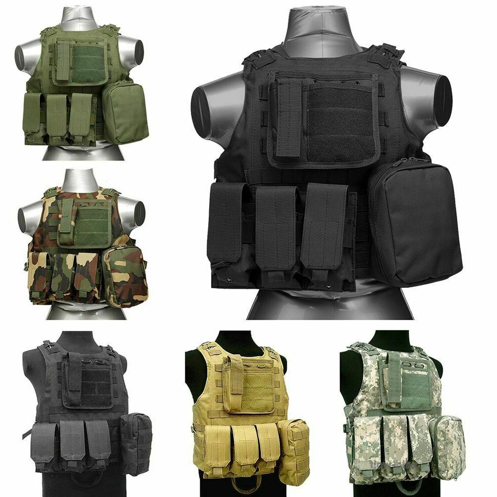 tactical military swat airsoft molle combat assault