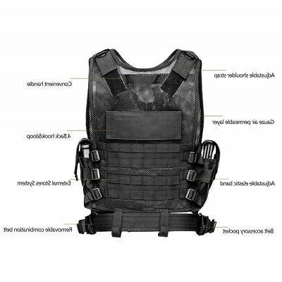 Tactical Vest Military Carrier JPC Molle Combat Assault