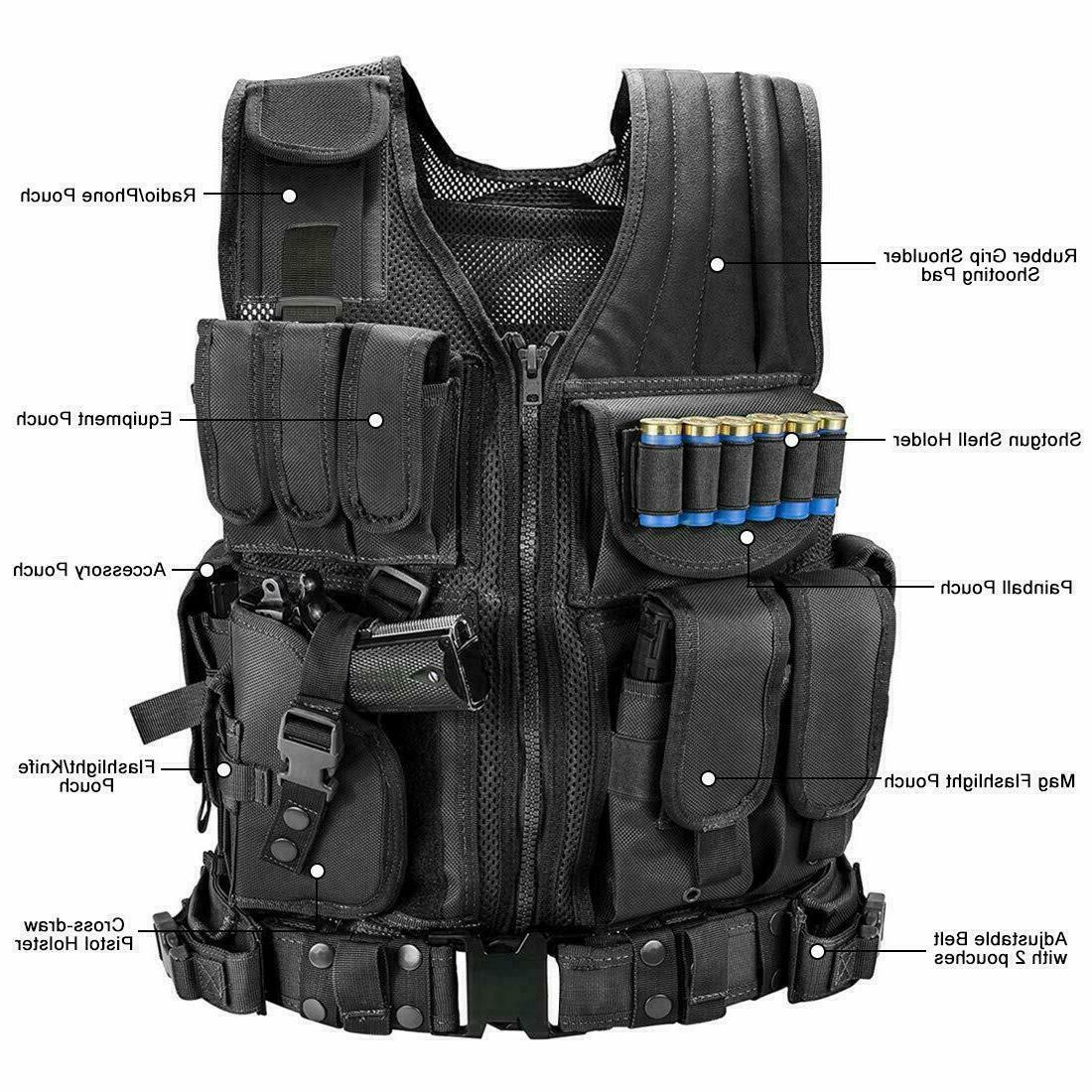 Tactical Vest Military Carrier Combat