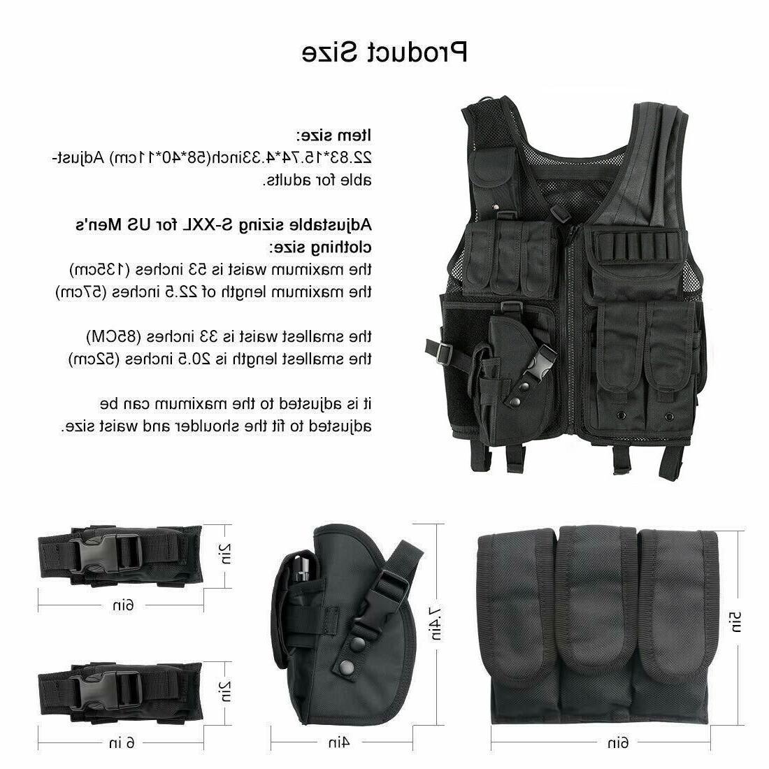 Tactical Military Carrier Molle Police Combat Gear