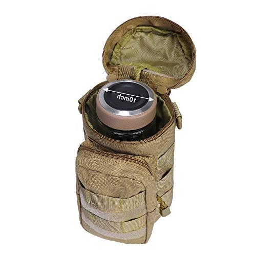 G4Free Tactical Water Pouch EDC Gadget 1000D Hydration Carrier