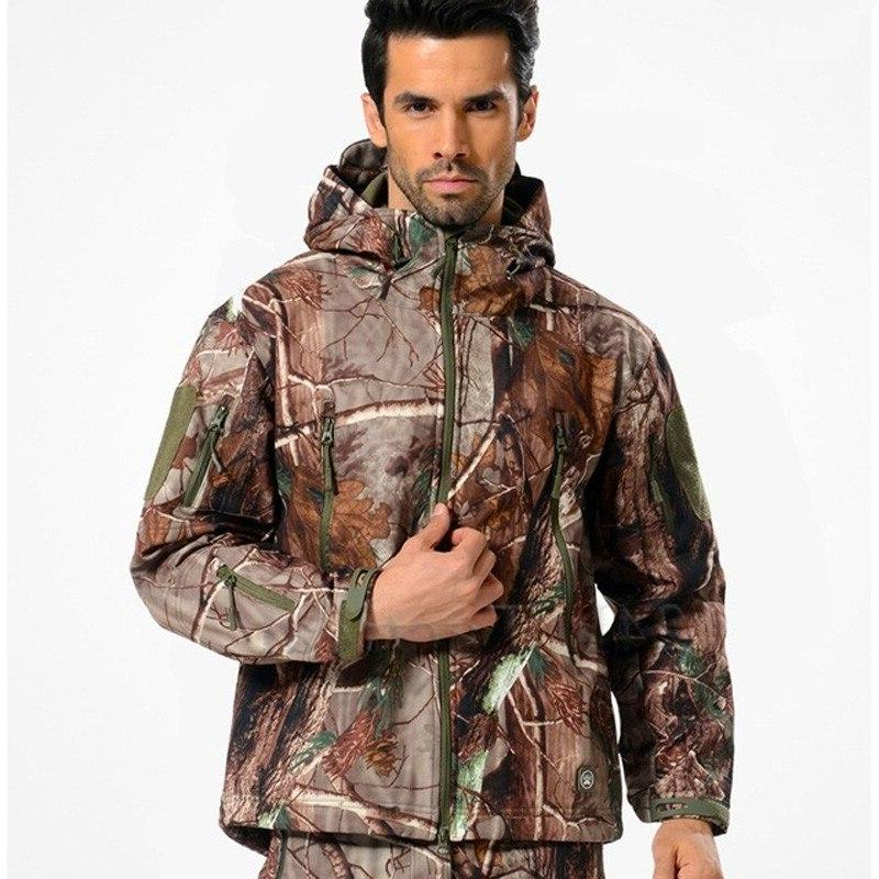 TAD Camouflage <font><b>Jacket</b></font> Lurker Shark Shell Sports Multicam