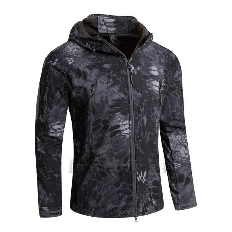TAD Camouflage <font><b>Jacket</b></font> Lurker Shell Waterproof Windproof Sports Multicam