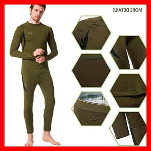 Thermal Hunting Gear Sport Johns Base Layer Bo X