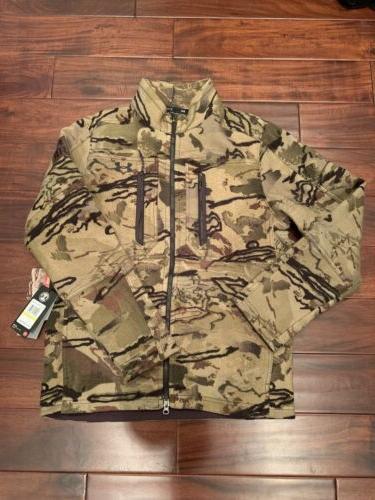 threadborne mens medium hunting jacket wool barren