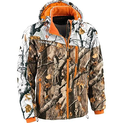 Legendary Whitetails Timber Line Insulated Softshell Field Large