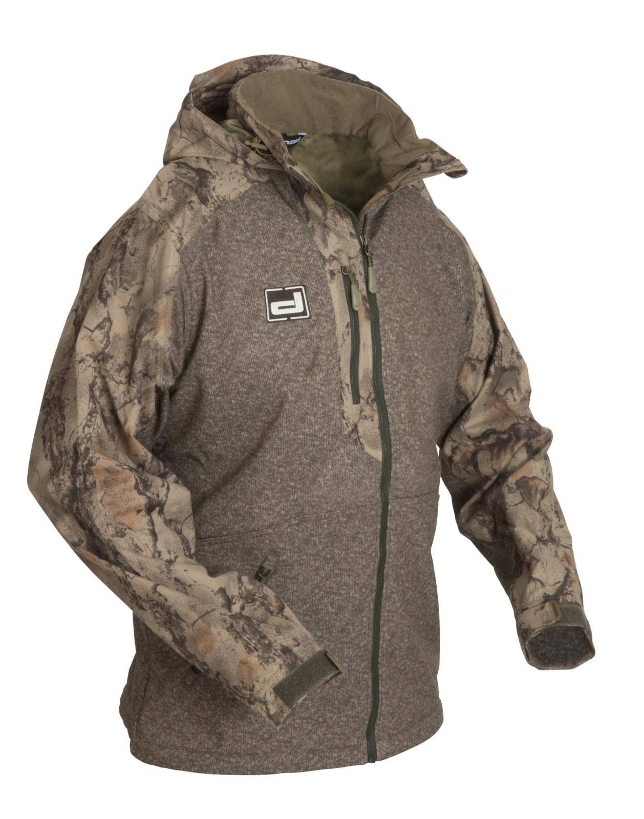 Banded Tule Lake Zip Jacket Camo