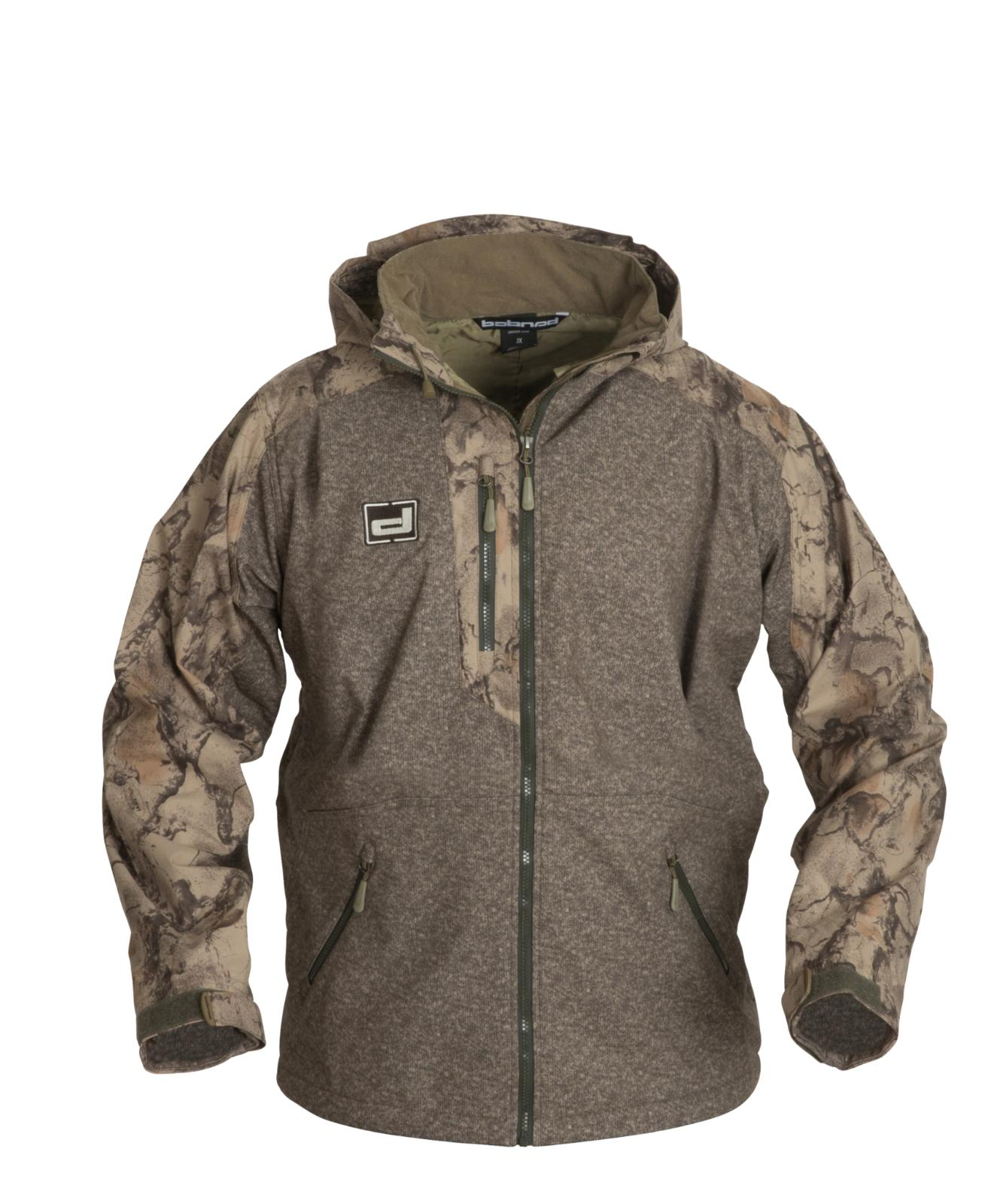 tule lake full zip jacket waterproof hooded
