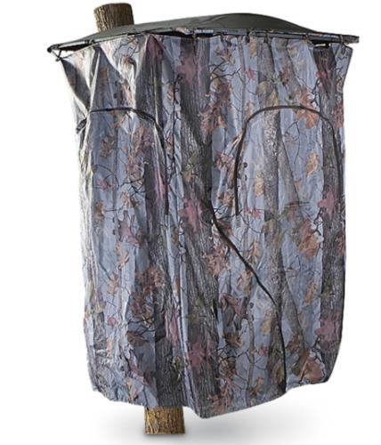 Guide Gear Tree Stand Blind Kit Deer hunting Big Camo Outdoor