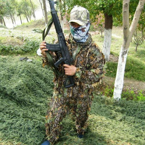 US 3D Set Sniper Jungle Forest New