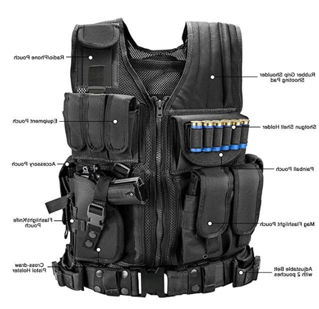 US Military Tactical Combat Gear