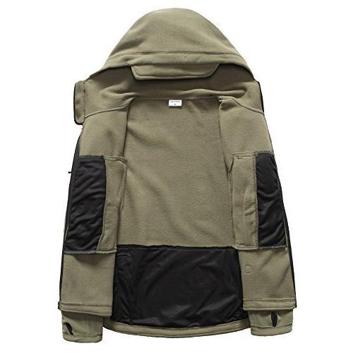 ReFire Men's Military Hoodie Jacket,Army