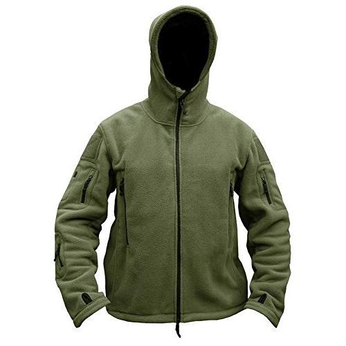 ReFire Gear Warm Military Sport Fleece Hoodie