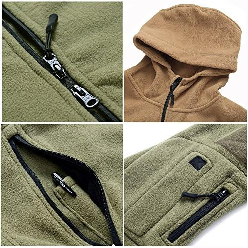 ReFire Military Tactical Sport Fleece Hoodie
