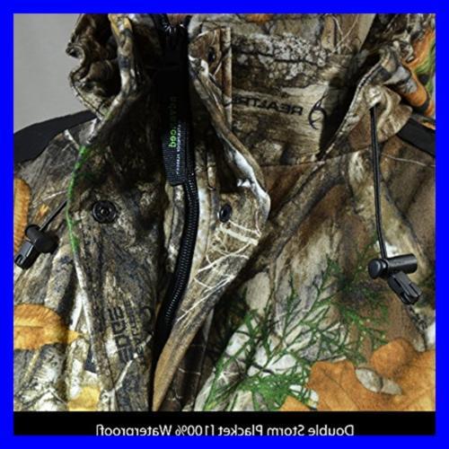 Rivers Waterproof Camouflage Fleece Hunting Frontier Jacket